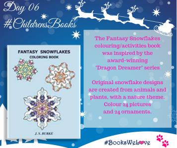 Day 06 Fantasy Snowflakes