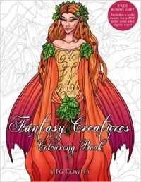 Fantasy Creatures Colouring Book