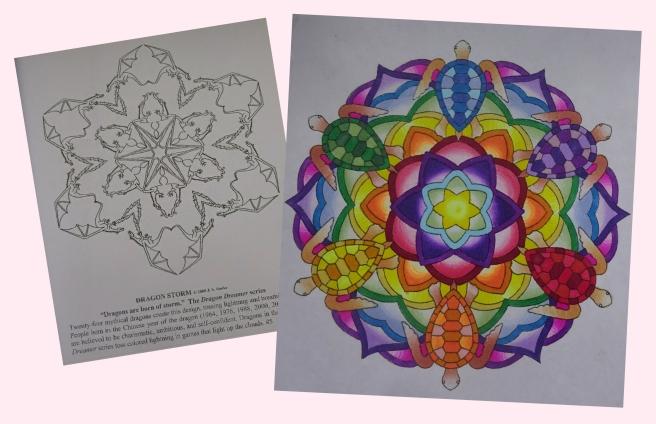 Fantasy Snowflakes Coloring Book pics